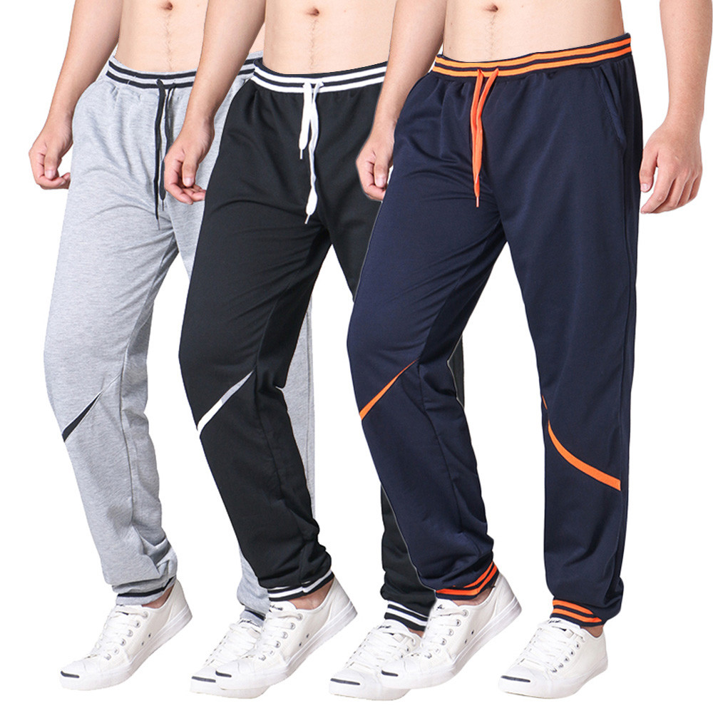 2019 Summer Fashion New Men's Pants Drawstring Elastic Waist  Joint  Loose Sports Pants Joggers Streetwear Pantalones Hombre