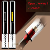 Automatic Wine Bottle Opener Kit Automatic Corkscrew Electric Wine Opener Cordless With Foil Cutter And Vacuum