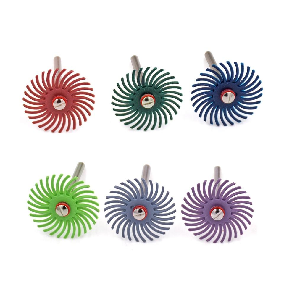"""10pcs 1 """"perie radială abrazivă cu brățară pentru accesorii Dremel Viteza sculei rotative 15000-30000RPM mașină de șlefuit"""