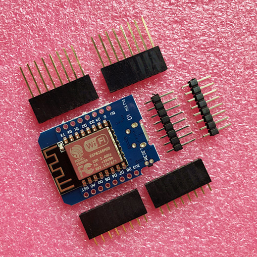50pcs D1 mini - Mini 4M bytes Lua WIFI Internet of Things development board based ESP8266 by WeMos