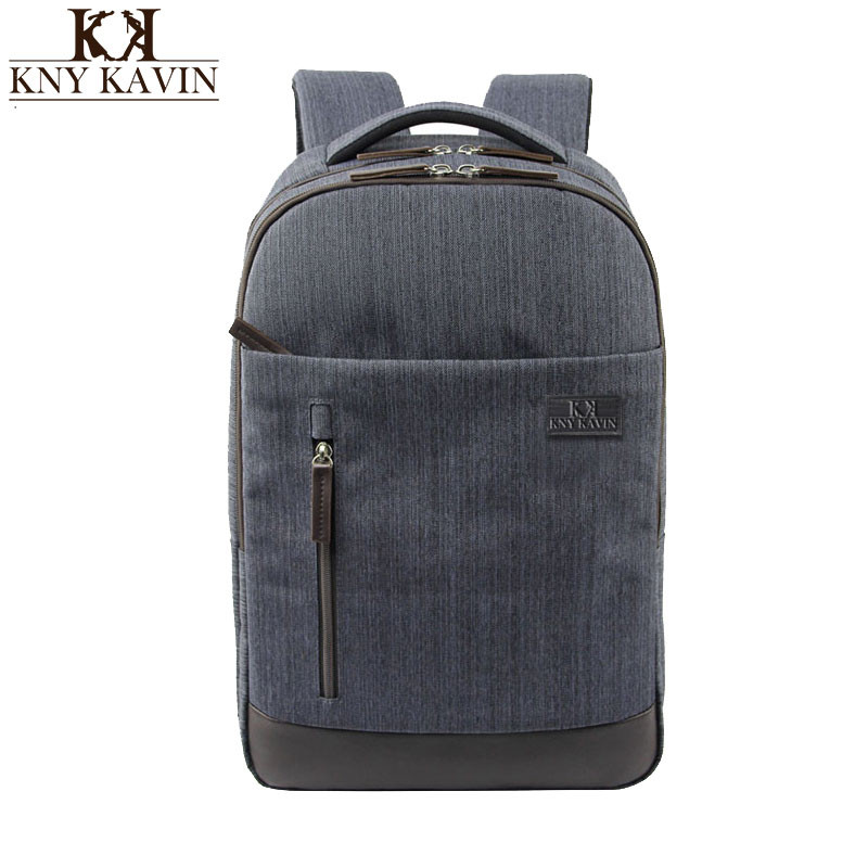 KNY KAVIN Brand Cool Urban Backpack Men Women Light Minimalist Fashion Laptop Bag Male Backpack 15 inch Notebook School Backpack цена