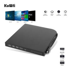External Blu-Ray DVD Drive Burner Player USB3.0 Type-C DVD-RW VCD CD RW Burner Support BD-ROM BD-R CD-ROM CD-R DVD-ROW DVD-R купить недорого в Москве