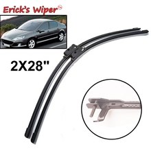 """Erick's Wiper LHD передние щетки стеклоочистителя для peugeot 407 407 SW 2004-2010 лобовое стекло Переднее стекло 2""""+ 28"""" Левый руль"""
