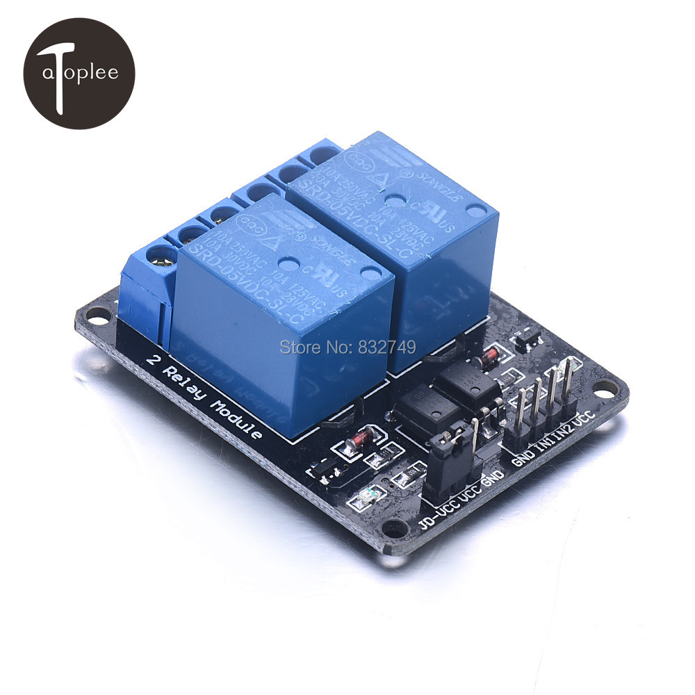 5V 4-Channel Relay Module Shield for Arduino ARM