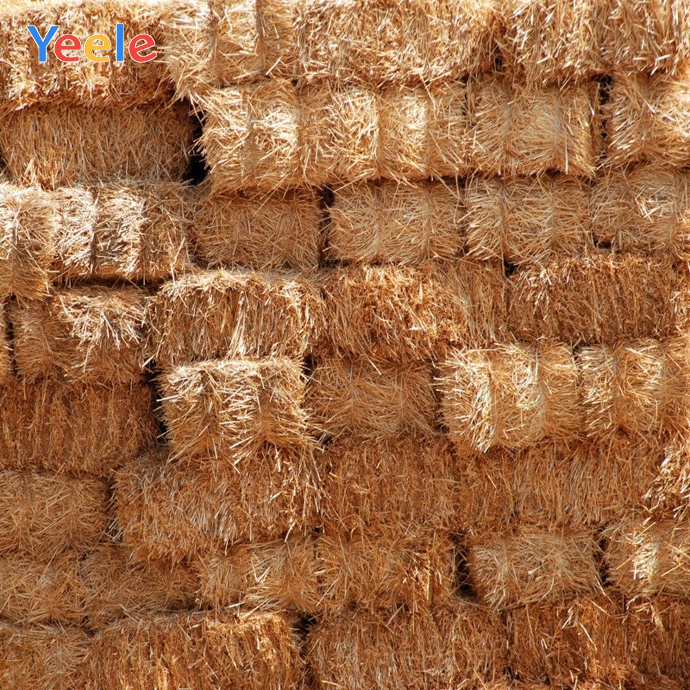 Yeele Autumn Rural Farm Field Haystack Photography Backdrop Personalized Newborn Baby Backdrops Photographic For Photo Studio