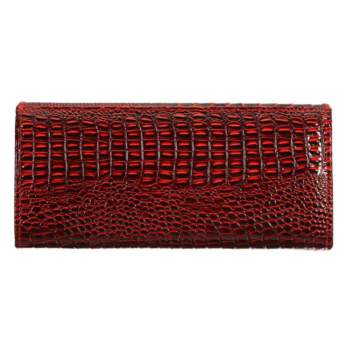 de crocodilo em relevo longo Key Word 1 : 3D Alligator Leather Wallet Women Wallet And