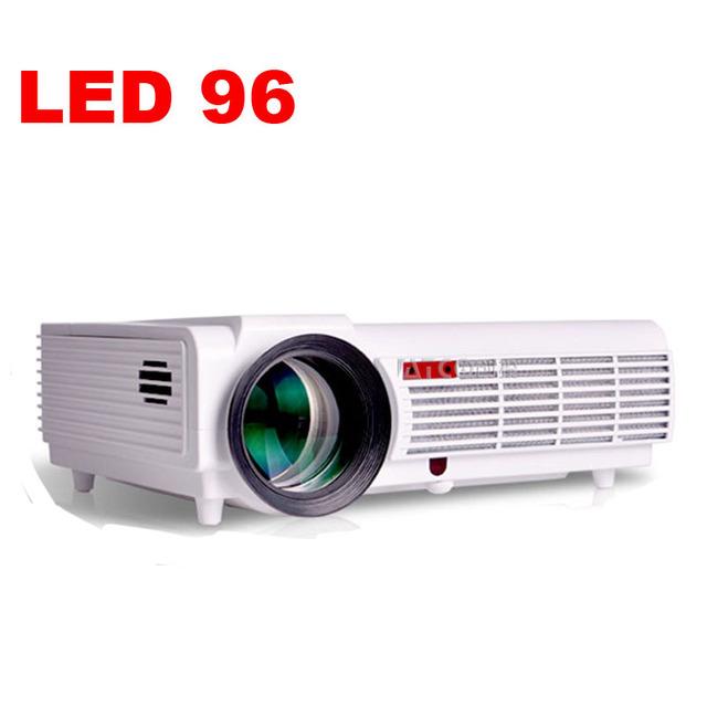 5500 lúmenes LED96 1080 p Video Proyectores Beamer projektor proyector Full HD Led LCD del teatro casero con HDMI USB VGA para KTV, Bar