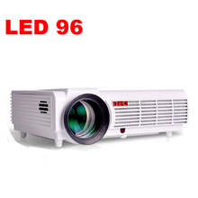 5500 lumens LED96 1080 p Vidéo Led LCD home cinéma Projecteurs Projektor proyector Beamer Full HD avec HDMI USB VGA pour KTV, Bar
