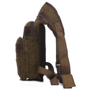 Image 4 - Mens Waterproof Canvas Waist Drop Leg Bag Fanny Pack Thigh Hip Bum Belt Motorcycle Military Tactical for Travel Riding Hiking