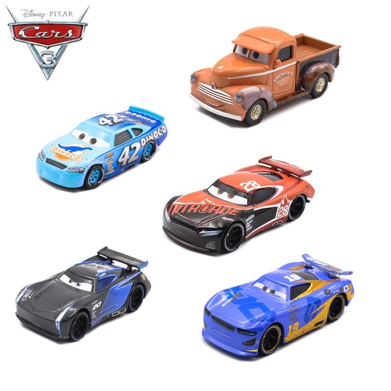 cars 3 toys  US $6.86 6% OFF|Disney Pixar Cars 6 Toys Lightning McQueen Jackson Storm  Tutor SMOKEY Car Toy Boy Educational Toy Best Birthday Christmas Gift-in ...