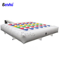 S338 BENAO Free shipping Giant Inflatable Chess inflatable mega twister game with customized size for outdoor playing