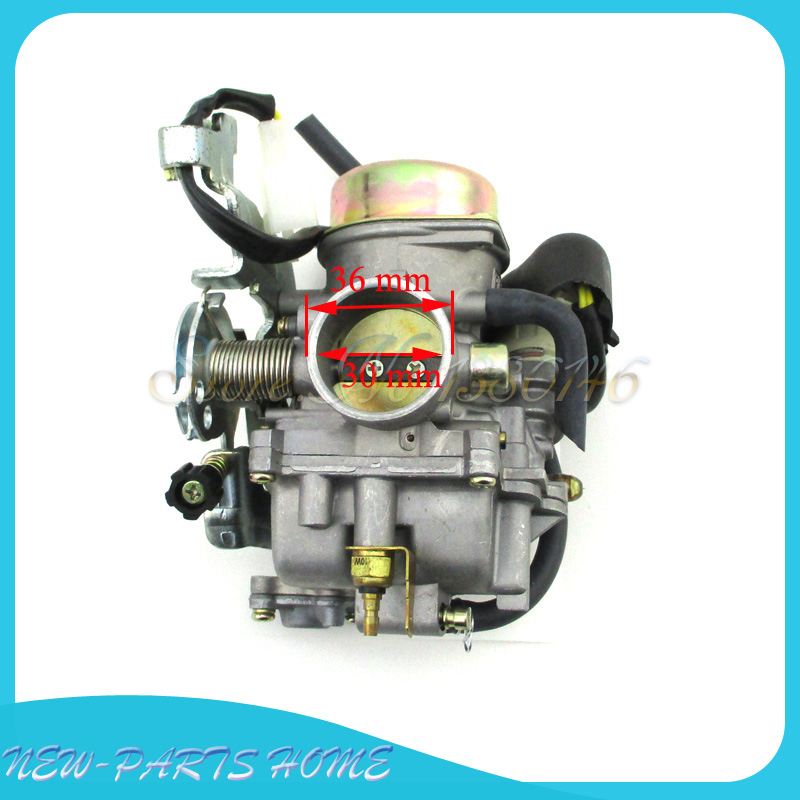 US $46 99 11% OFF|Carburetor For ASW Manco Talon LinHai Bighorn 250cc 260cc  300cc ATV UTV Quad-in Carburetor from Automobiles & Motorcycles on