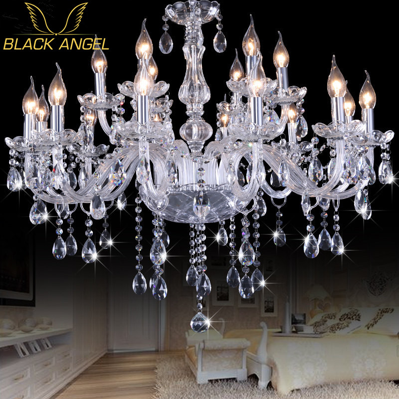 Modern K9 Crystal Chandeliers lustres de cristal lamparas de tech Chandelier Lighting Fixture For Living Room modern water plant chandelier creative wood glass lustres living room cafe clothing store decorative chandeliers lamparas de tec