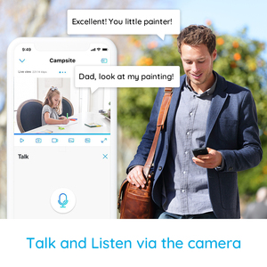Image 5 - Reolink 4MP home security ip camera 2.4G/5G WiFi Pan&Tilt listen&talk SD card slot indoor Surveillance Camera E1 Pro