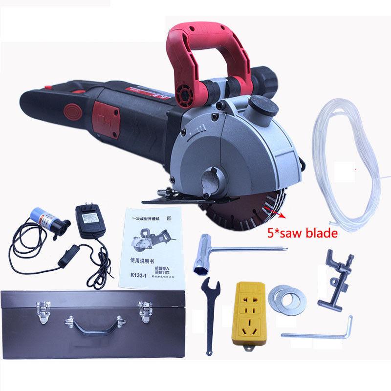 4800W Electric Wall slotting machine Chaser Groove Cutting Machine 220V 133mm