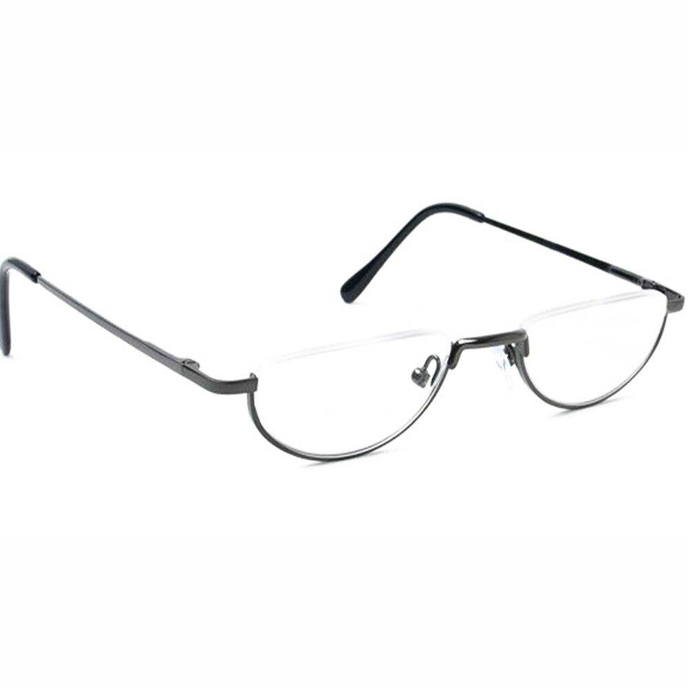 Agstum Halbmond Vintage Federscharnier Brillen Rahmen Lesebrille + 1 ...