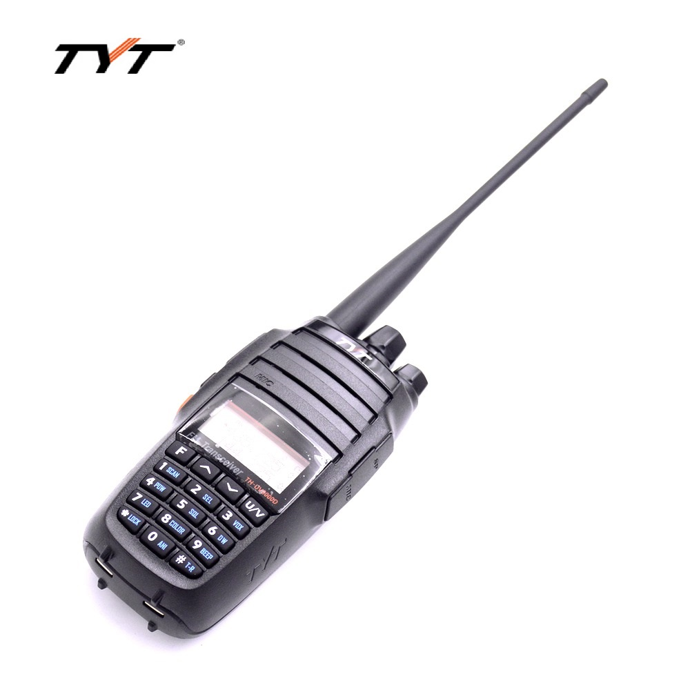 TYT TH-UV8000D Jambon Talkie Walkie 10 W Puissance D'émission Deux Façon Radio & 2 Antenne à Gain U/V Dual Band Veille D'affichage Transcevier