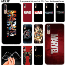Hot Marvel Comics Simple Logo Soft Silicone Case for