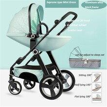 High landscape Luxury Baby Stroller Newborn Buggy 0-36 Months Stroller Baby Carriage