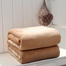 Multi-tamaño antiestático polar manta en la cama/sofá, super suave caliente tirar las mantas para otoño/primavera, actualizado de cama de franela