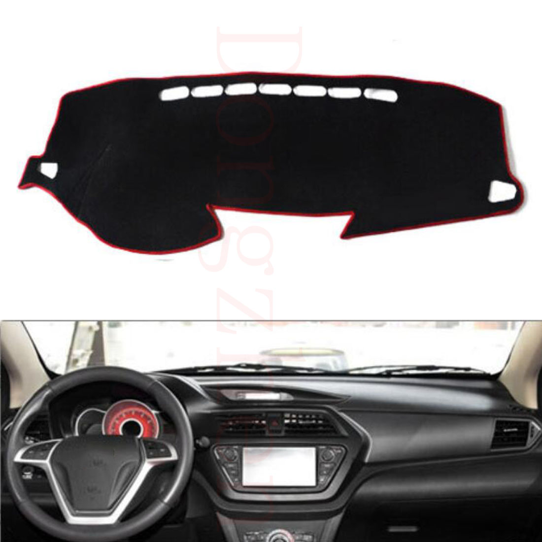 Dongzhen Fit For Lifan X50 Car Dashboard Cover Avoid Light Pad Instrument Platform Dash Board Cover Car Styling