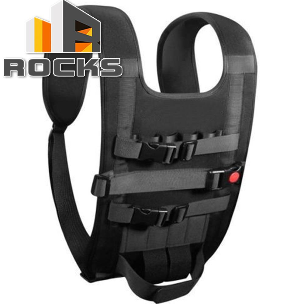 Black Portable Shoulder Backpack Bag Carrying Case For D J I P.hantom 1/2/3 4 Diving Material High-grade Nylon Belt