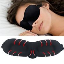 3D Soft Night Sleep Mask Travel Rest Aid Eye Sleep Mask Cover Eye Patch Sleeping Mask Case Blindfold Eye Mask Eyeshade Massager