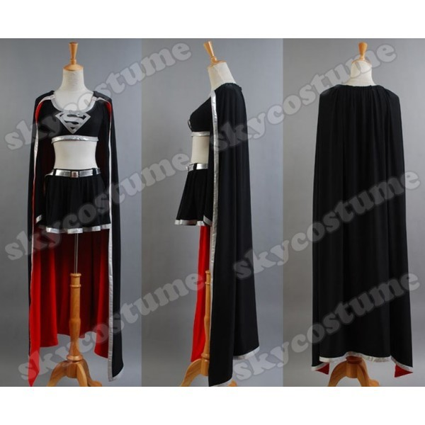 Evil Supergirl Cap Cosplay Costume From Supergirl