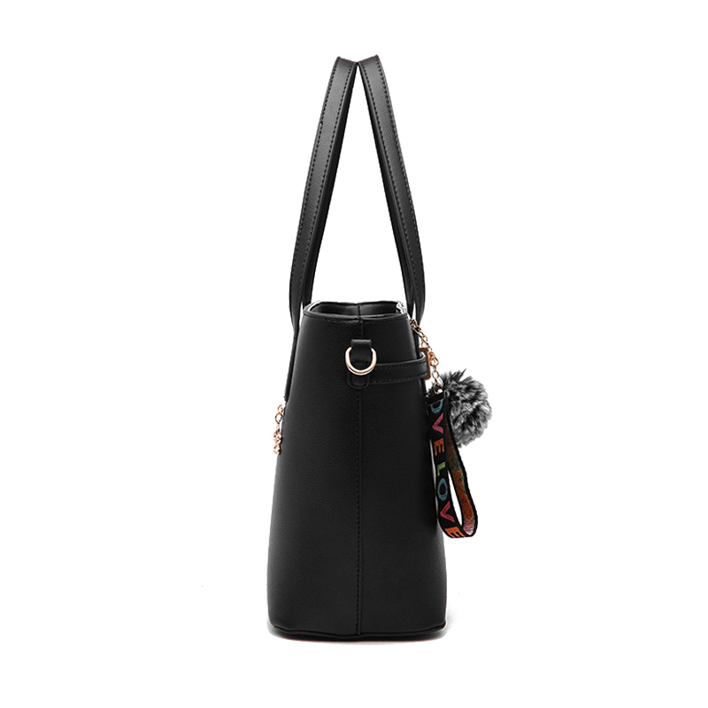 0c8dcf16d1e9 Aihyzm 2018 Women Pu Leather Handbags British Style Bags Handbags Women  Famous Brands Hair ball Women Messenger Bags-in Top-Handle Bags from Luggage    Bags ...