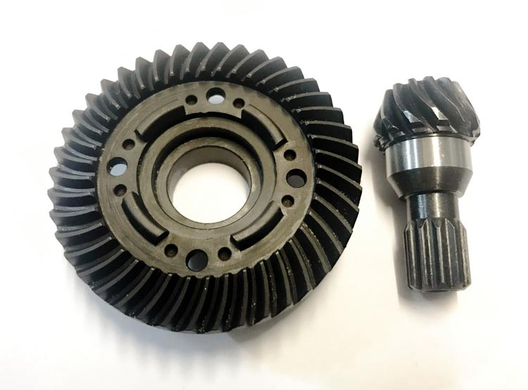 RC Front Hard Steel Differential Ring//Pinion Gear Set For Traxxas X-Maxx 1//5