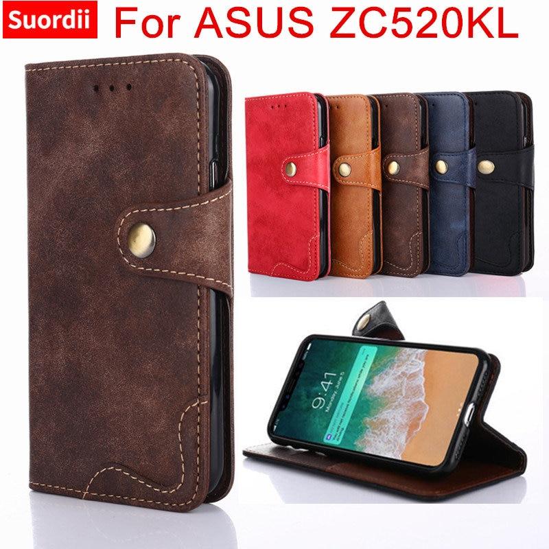 Luxury Cover For ASUS ZenFone 4 Max ZC520KL Case 5.2 Inch Flip Wallet Case For ASUS Zenfone 4 Max ZC520KL Phone Cover Bag Funda