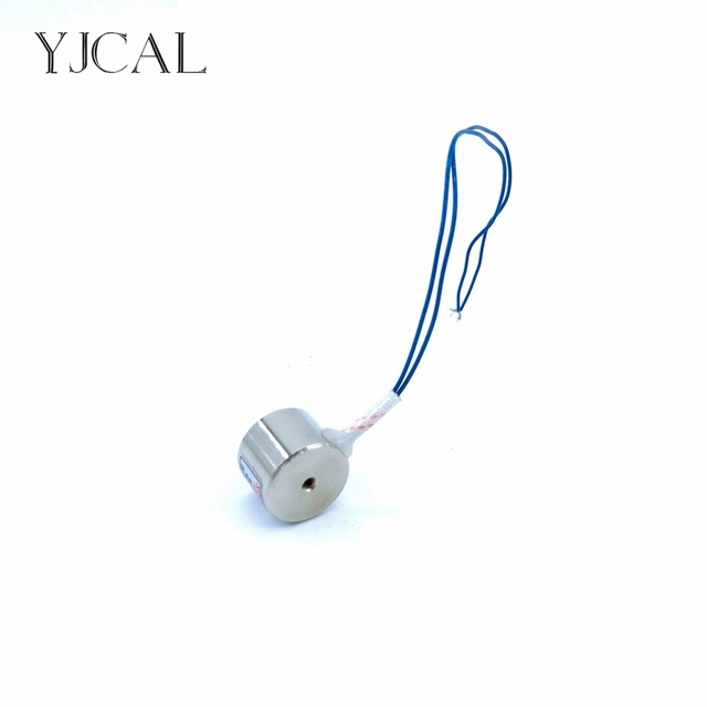 Suction-cup Dc 12V 24V Cylindrical Holding Electric Sucker Electromagnet Magnet YJ-20/25 Lifting 3KG Gallium Metal China