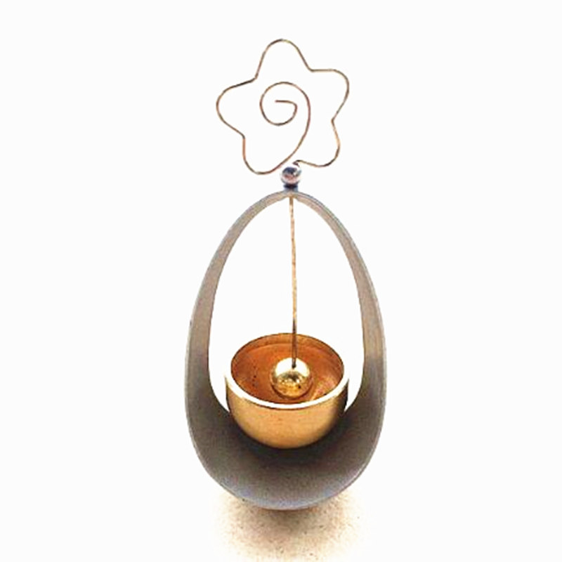 Bronze bells swing tumbler work desk small craft can be inserted
