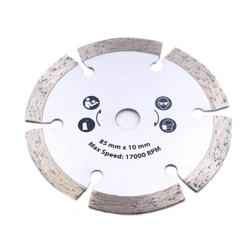 מזגנים עבור דיסק לבני אריח שיש גרניט עץ מתכת עבור כלי חיתוך protable / DIY שרשרת חשמלית יהלומי 54.8MM מסור עגולה (4)