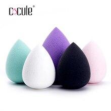 Cocute maquillaje esponja Cosmética Maquillaje puff polvo suave cosmético belleza de esponja herramientas de belleza regalos
