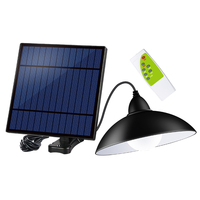 Super Bright Bulb Easy Install Lampshade Panel Waterproof Solar Light Outdoor 12LED Safe Retro Garden Remote Control Chandelier
