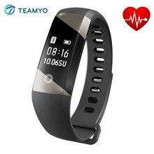 TEAMYO A10 Smart Запястье Часы Сердечного ритма Bluetooth Смарт Браслет С Удаленной Камеры Шагомер Водонепроницаемый Спорт Браслет