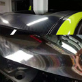 Alta qualidade 3 camadas super brilhante 5d fibra de carbono textura filme vinil gloss embrulho estilo do carro decoração adesivo motor diy