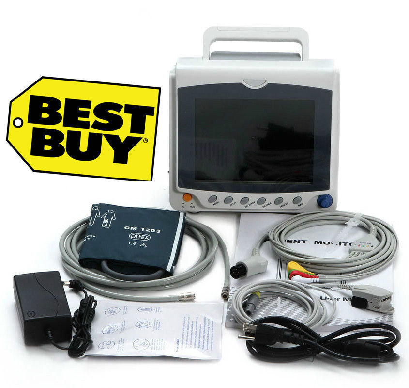 все цены на Hot ICU/CCU Patient Monitor, ECG+NIBP+Pulse Rate+SPO2,Printer optional, CMS6000C онлайн