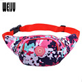 WEIJU Waist Bags 2015 New Fanny Pack Money Belt Travelling Mountaineering Casual Print Mobile Phone Bag 7.18-241