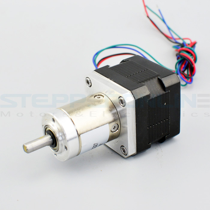 Nema 17 geared stepper motor Gear ratio 27:1 motor gearbox With 28mm planetary reduction gearbox 42.3*42.3*71mm for 3d printer 57mm planetary gearbox geared stepper motor ratio 10 1 nema23 l 56mm 3a