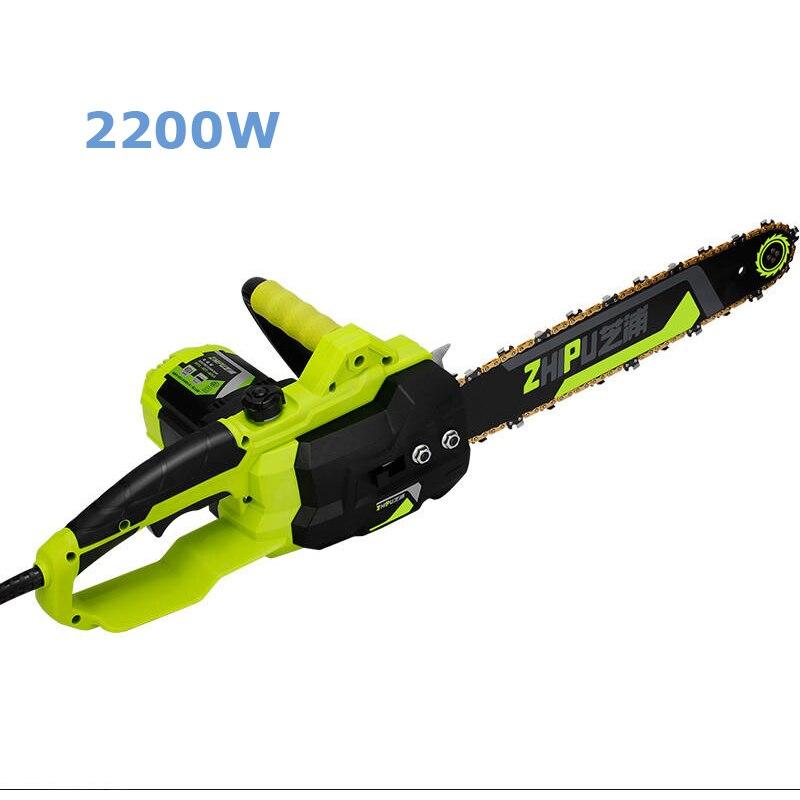 220V chine vu multi-fonctionnel électrique scie haute puissance jardin tronçonneuse 2200W outils de coupe ménagers
