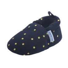 Newborn Infant First Walkers Shoes Cotton Star Printed Baby Boys Girls Sneaker Anti-slip Soft Sole Toddler Shoes Sneaker #NL(China)