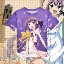 Hombre Camiseta Del Verano 2015 Del Estilo Del Verano de Luz Púrpura Mujeres Hombres Camiseta de Dibujos Animados Harajuku Anime Cosplay Camisetas