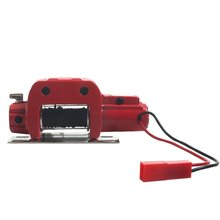 1/10 Simulation Climbing Model Car Metal Cnc Winch Tractor For D90D110 Scx10 Trx4 Jeep Winch Tractor цена