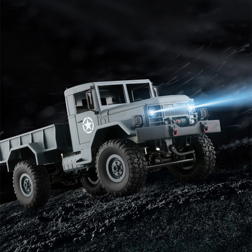 WPLB-14 1/16 Toy Grade 4WD RC Military Truck Wireless Remote Control Car Decompression funny toys anti stress ball