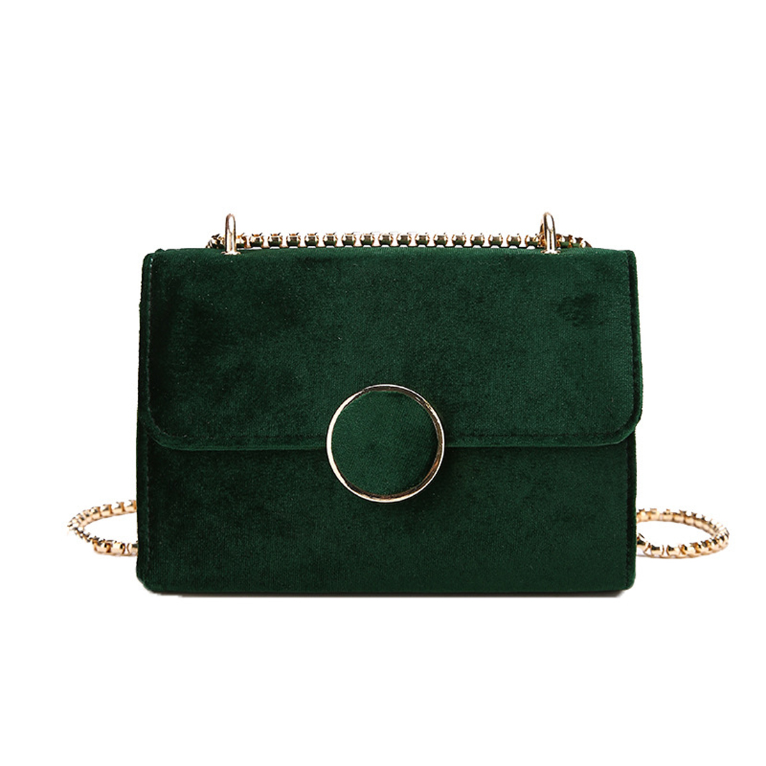 New style Woman Velour Shoulder Bag Female Vintage Mini Flap Bag Small Chain Quilted Famous Brand Designer Handbag