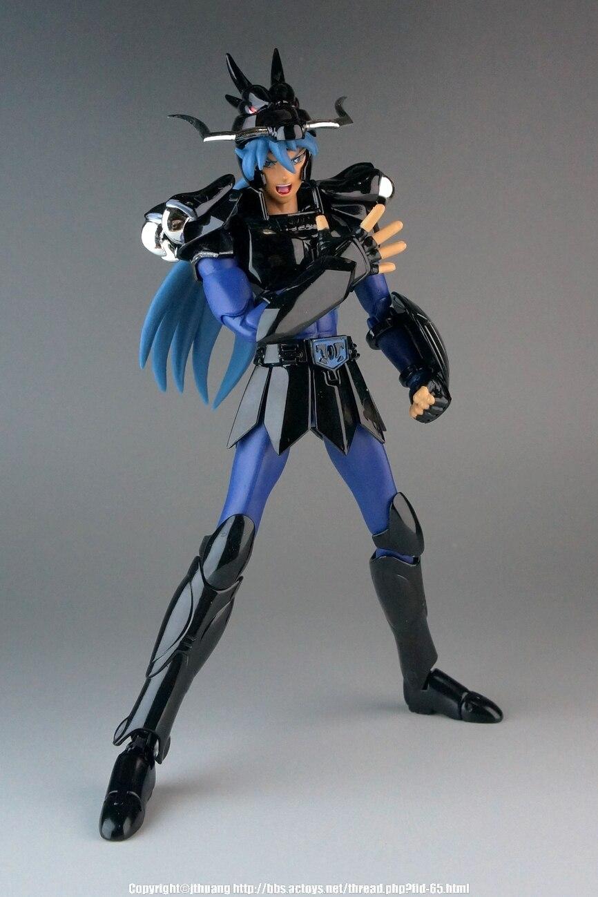 in stock Aurora CS Model dark black Shiryu Dragon v1 Saint Seiya Helmet Myth Cloth Bronze Saint action toy figure metal armor