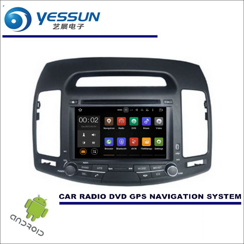 Yessun Wince Android Car Multimedia Navigation System
