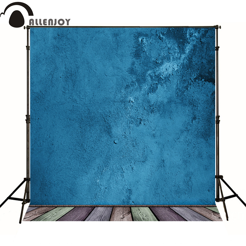 Allenjoy photo background photography wood board backdrops blue wall professional photo booth photocall for studio photo allenjoy studio photo background vintage colorful flags birthday blue floor photocall vinyl backdrops for photography